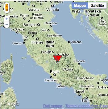 The Temporary Seismometric Network at Spoleto (Perugia, Italy)